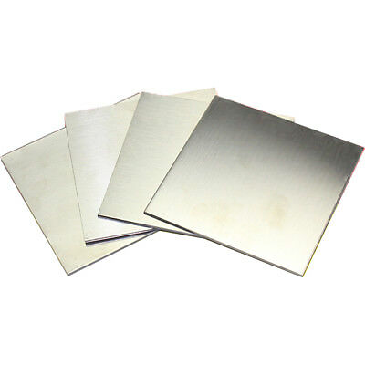 1pcs 304 Stainless Steel Fine Polished Plate Sheet 0.35100100mm