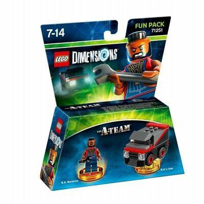 New in box Lego Dimensions The A Team Fun Pack 71251 Mr T BA