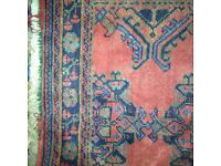 Handmade Large traditional low pile Turkish rug £175ONO