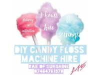 DIY Candy Floss Machine Hire £45