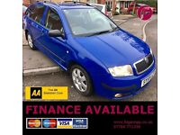 Buy With Confidence - 3 YEAR Free Warranty Including AA Cover! Skoda Fabia Bohemia 1.4 DIESEL ESTATE