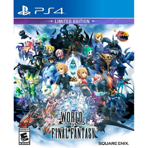 World of Final Fantasy PS4 Limited Edition