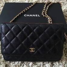 2016 Chanel W.O.C Black Quilted Caviar Gold Brisbane City Brisbane North West Preview
