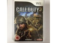 Wii & Wii U - Call of Duty 3 (COD) **New & Sealed** Official UK Stock