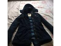 Hollister girls navy jacket size xs hardly worn