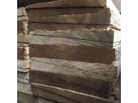 🌟 Treated Feather Edge Timber Fencing Pieces / Boards