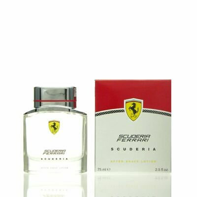 FERRARI SCUDERIA FOR MEN 75ML AFTERSHAVE LOTION BRAND NEW & SEALED