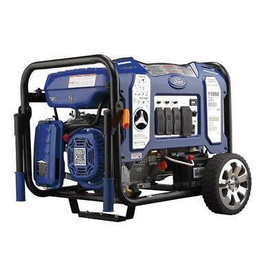 Ford 11050W Portable Dual Fuel Propane/Gas Generator Electric Start FG11050PBE