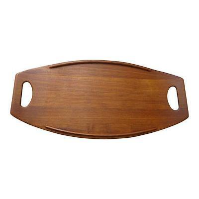 Dansk Denmark Teak Wood Quistgaard Cutting Board Carving Platter  Vtg Model 801