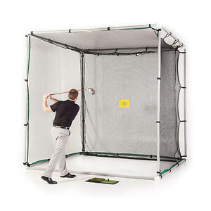 10x10x10-PVC-GOLF-CAGE-KIT-W-NYLON-IMPACT-NET-amp-TARGET