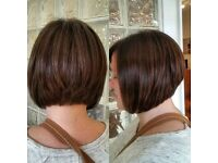 Free graduated bob haircut