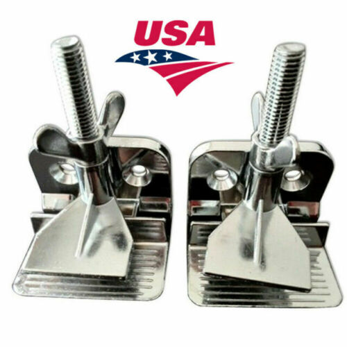 2pcs Butterfly Frame Hinge Clamp / Durable Silk Screen Printing Tool USA