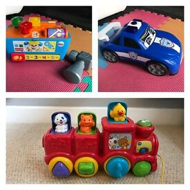 Set of toys 3 pcs