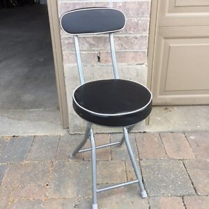 Folding Chair/Stool with back