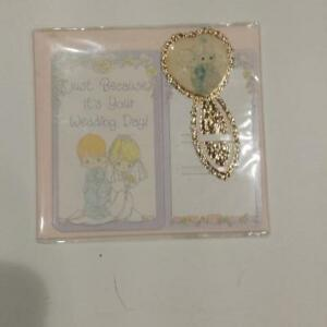 PRECIOUS MOMENTS WEDDING CARD NEW IN WRAPPER