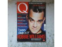 Q Magazines- Take That + Robbie Williams Bundle