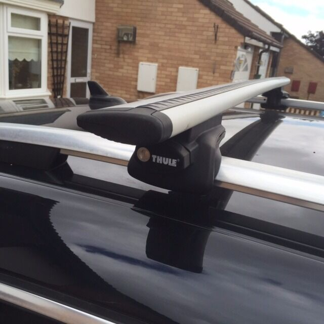 thule aero bars roof bars and foot pack thule 961 wing. Black Bedroom Furniture Sets. Home Design Ideas