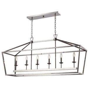 Beautiful 6-light chandelier