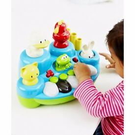 New ELC Boys and Girls Singing Animal Keyboard Musical Toy From 6 months