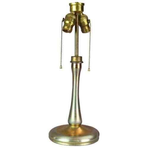 Antique L.C. Tiffany Favrile School Art Glass Table Lamp Base, circa 1920