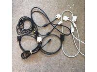 Various DVI cables (see list below)