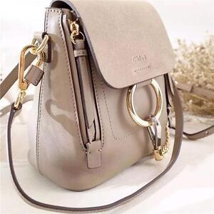 Chloe Faye BackPack Grey And Blue ( More styles And Brands Available) Largest Fashion Store in The Market
