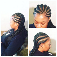 African  hair  braiding and styling