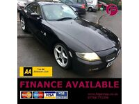 3 YEAR WARRANTY & AA Cover - BMW Z4 Sport 3.0i Coupe - Long MOT - Newly Serviced = Superb Value!!