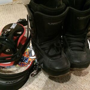 Simms Board, Bindings, and Size 6 K2 Boots...Used 1 weekend