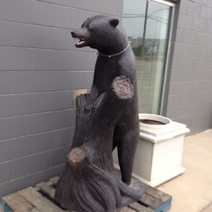 Save $600.00-XL concrete bear-last one left