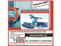 Affordable Air/sea freight to Nigeria