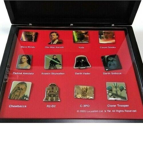 Star Wars Episode III Pin Badge Set Limited Darth Vader BOX Disney