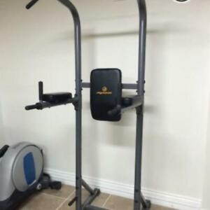 Apex Power Tower, Incline Weider Bench Press, AbKing Pro, 140lbs