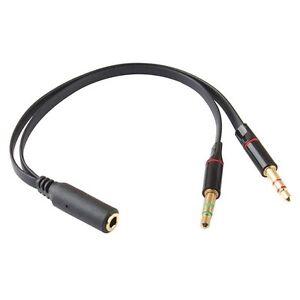 Adapteur Headset (Ecouteur/Mic) 1 Plug a 2 Plug pour Ordi Saint-Hyacinthe Québec image 1