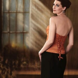 Formal Gown, exquisite details, full corset