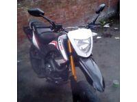 txm 125cc supermoto swaps 125