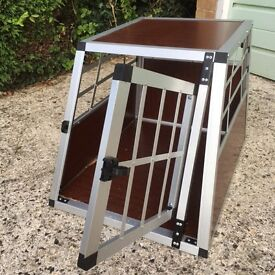Dog Crate Aluminium Pet Travel Carrier - Small / Medium Dog