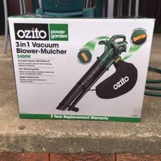 Ozito 3 in 1 Vacuum Blower-Mulcher