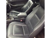 BMW E46 3 Series Coupe Black Leather Seats Interior & Doorcards