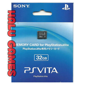 Brand New & Factory Sealed Psv Ps Vita Memory Card 32gb Genuine