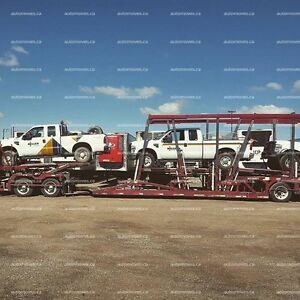 Dependable Auto Transport to and from Calgary Alberta