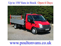 "2014 (14)FORD TRANSIT T350 EF DRW 13'6"" EXTRA LWB HIGH SIDED DROPSIDE,NOT TIPPER"