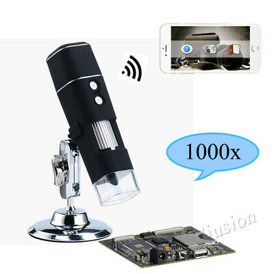 1000x 8 Led Wifi Digital Usb Microscope Endoscope Zoom For Phone Iphone Android