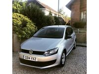 VW Polo 1.2 Manual Petrol 2014 (20,000 miles) Silver