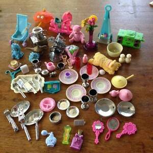 Barbie sized & doll house accessories Hermit Park Townsville City Preview