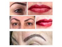 Semi Permanent Make Up - Hair Stroke Brows, Lips & Eyeliner - Special Offer for Model Treatments! N5