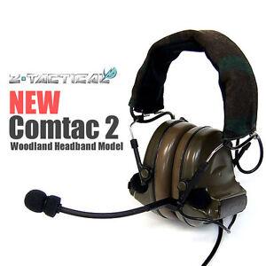 ztactical airsoft casque comtac 2 r ducteur de bruit. Black Bedroom Furniture Sets. Home Design Ideas