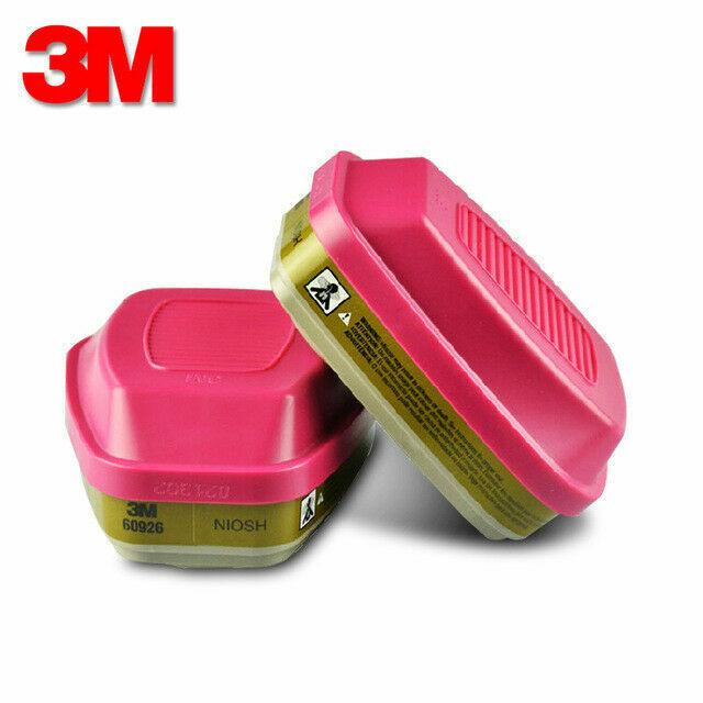 3M 60926 Multi Gas/Vapor Cartridge/Filter, P1OO, 1 Package of 2 Cartridges Business & Industrial
