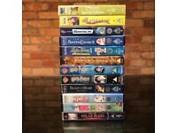 Children's movie video tapes bundle of 12