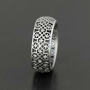 AUTHENTIC PANDORA INTRICATE LATTICE RING